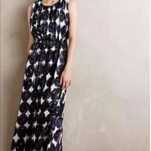 Anthropologie Dear Creatures Inkwash Maxi dress